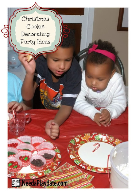 6 Secrets to a Successful Christmas Cookie Decorating Party | @MryJhnsn iNeed a Playdate