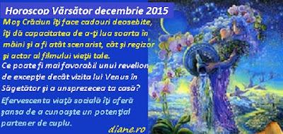 Horoscop Vărsător decembrie 2015