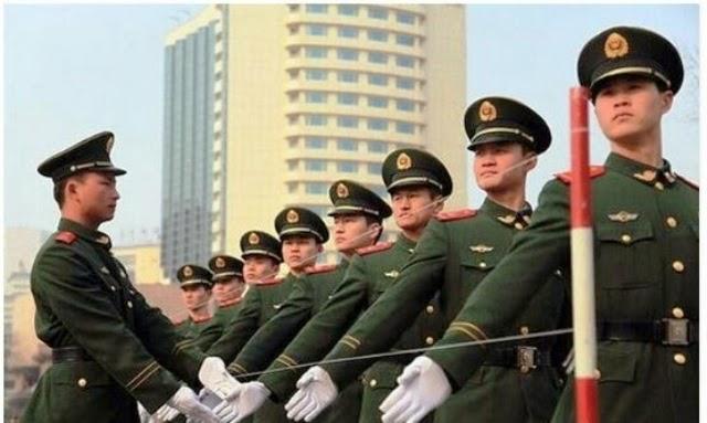Cara Polis Di China Berlatih Untuk Perbarisan Gambar Terakhir SANGAT KEJAM 5 GAMBAR