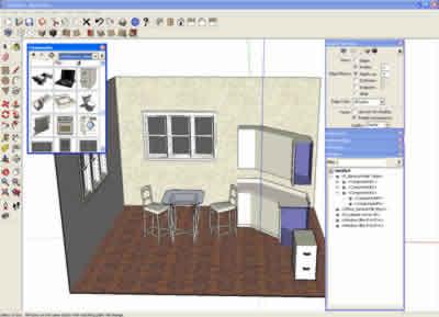 Info ingenieria civil descargar sketchup componentes for Programa decoracion 3d