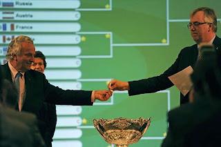 TENIS-Se prepara la Copa Davis para el 2012