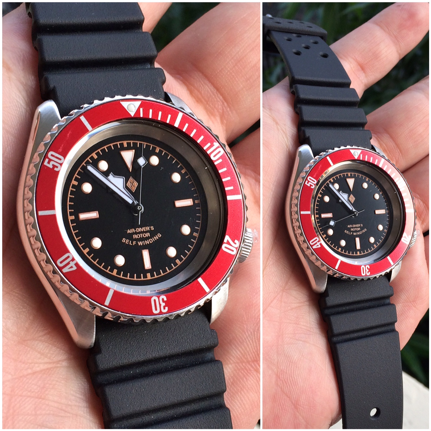 Seiko SUDOR with Rubber Flat Vent