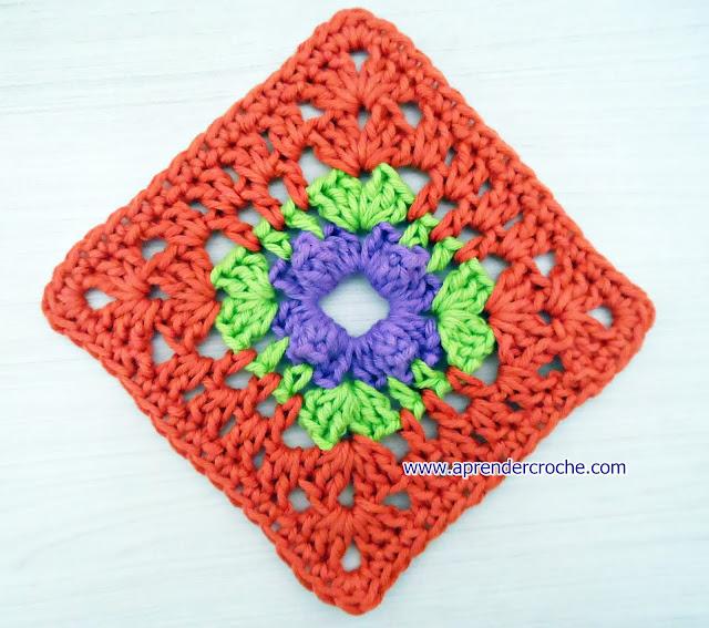 square aprender croche pipoca quadrados dvd edinir-croche loja curso de croche