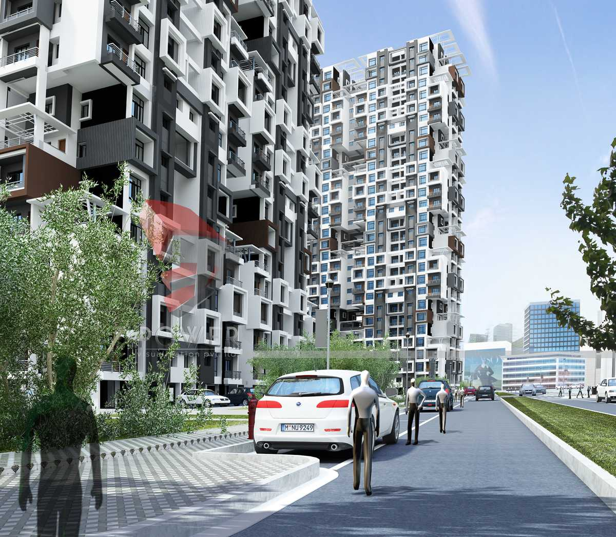 ViewResidential Apartment DesignArchitectural Photorealistic Design