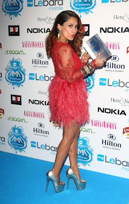 Hot legs on asian awards