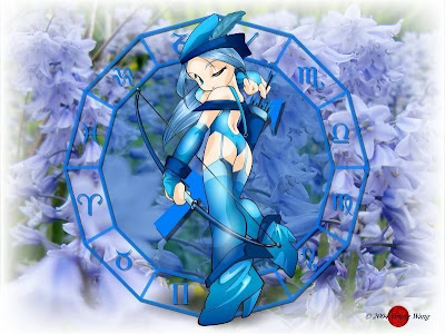 signo zodiacal sagitario en anime