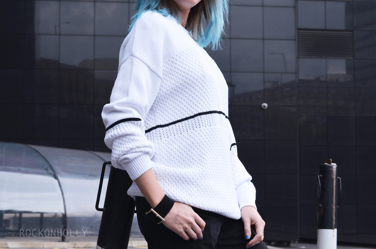 Sweaty Betty Luxe Knit Jumper on Rock On Holly