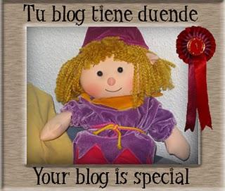 Premio tu blog tiene duende