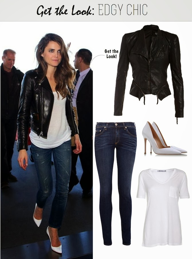 FRANKIE HEARTS FASHION Get the Look Edgy Chic