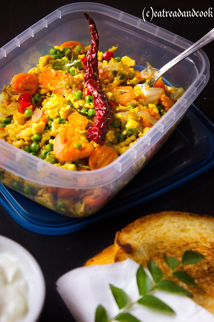 how to cook a quick simple and healthy egg bhurji