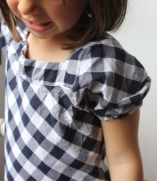 manga ranglan vestido niña