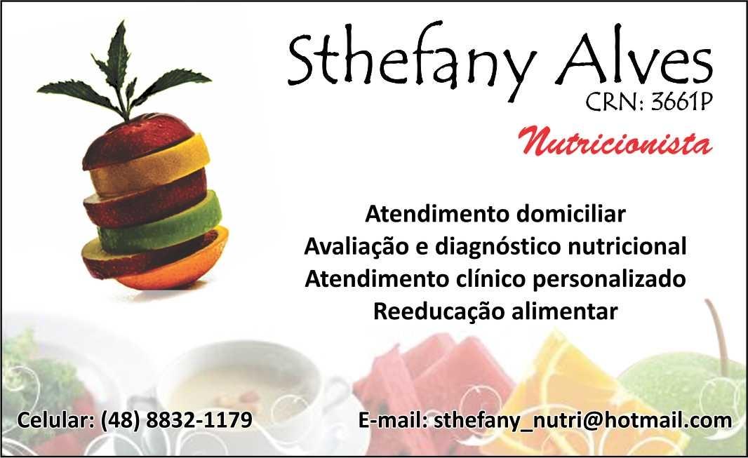 Conhecido Trufada: Nutricionista - Sthefany Alves VD59