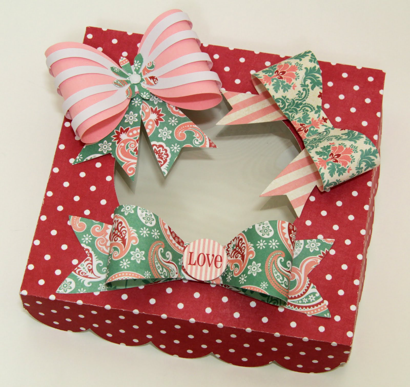 The Paper Boutique Quick And Easy Paper Bows Using Your Cameo