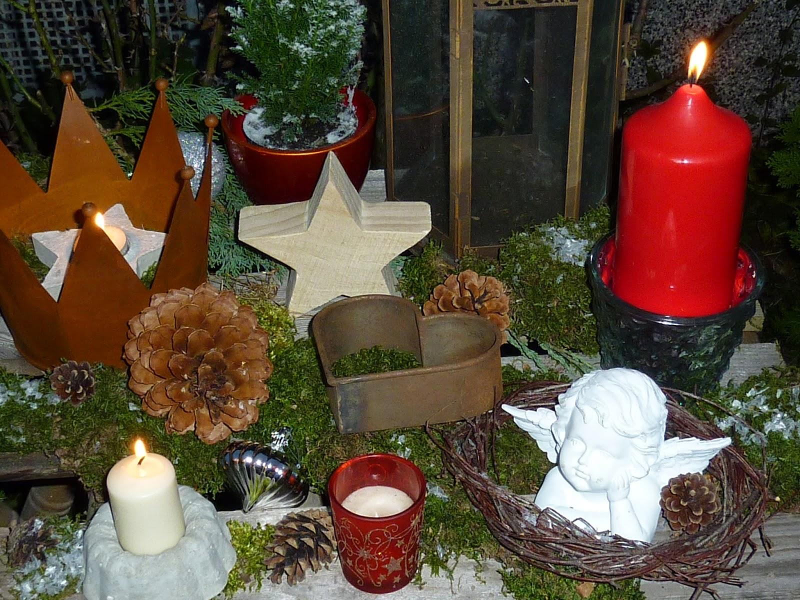weihnachtsdeko garten weihnachtsdeko bilder und fotos. Black Bedroom Furniture Sets. Home Design Ideas