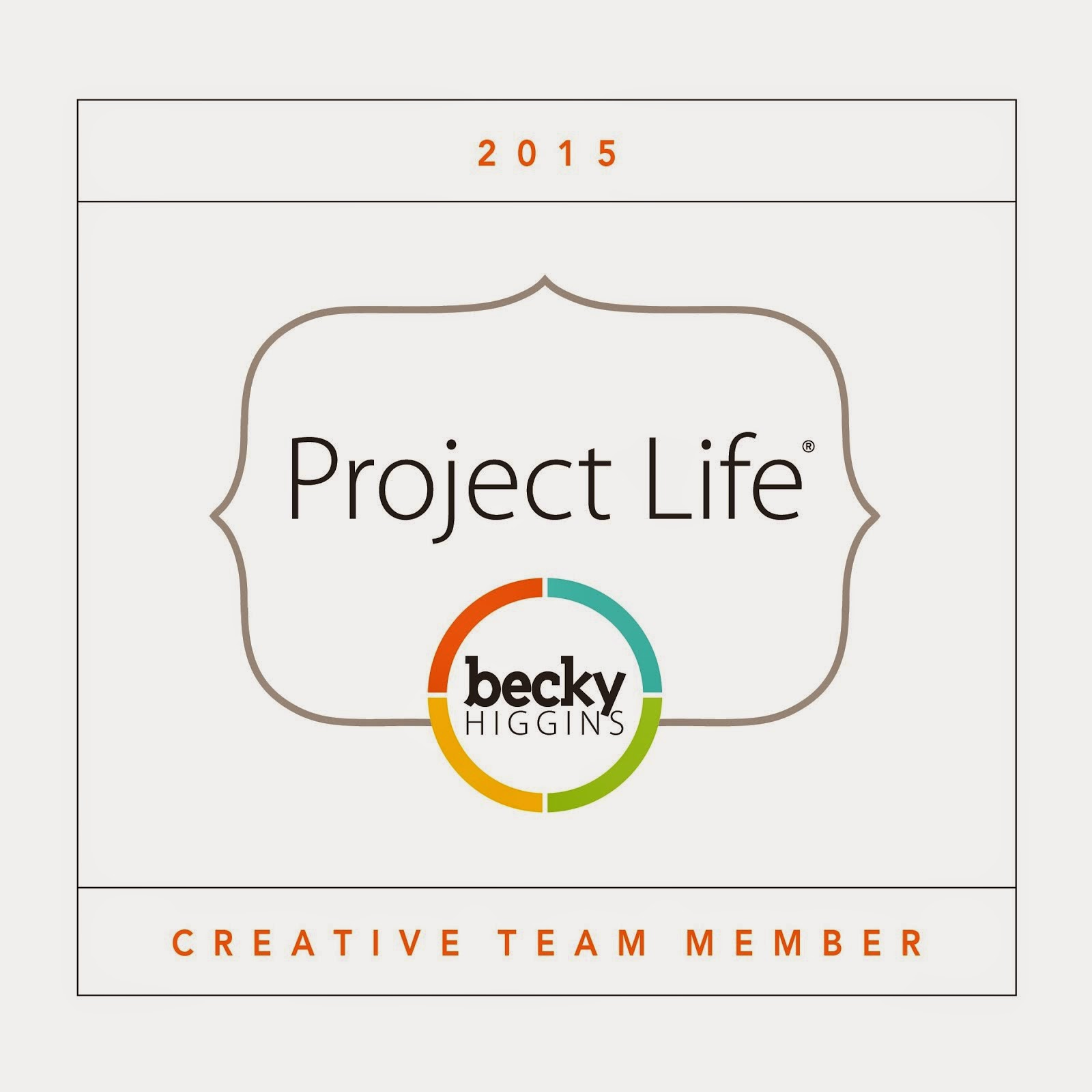 I am a Project Life Creative Team Member