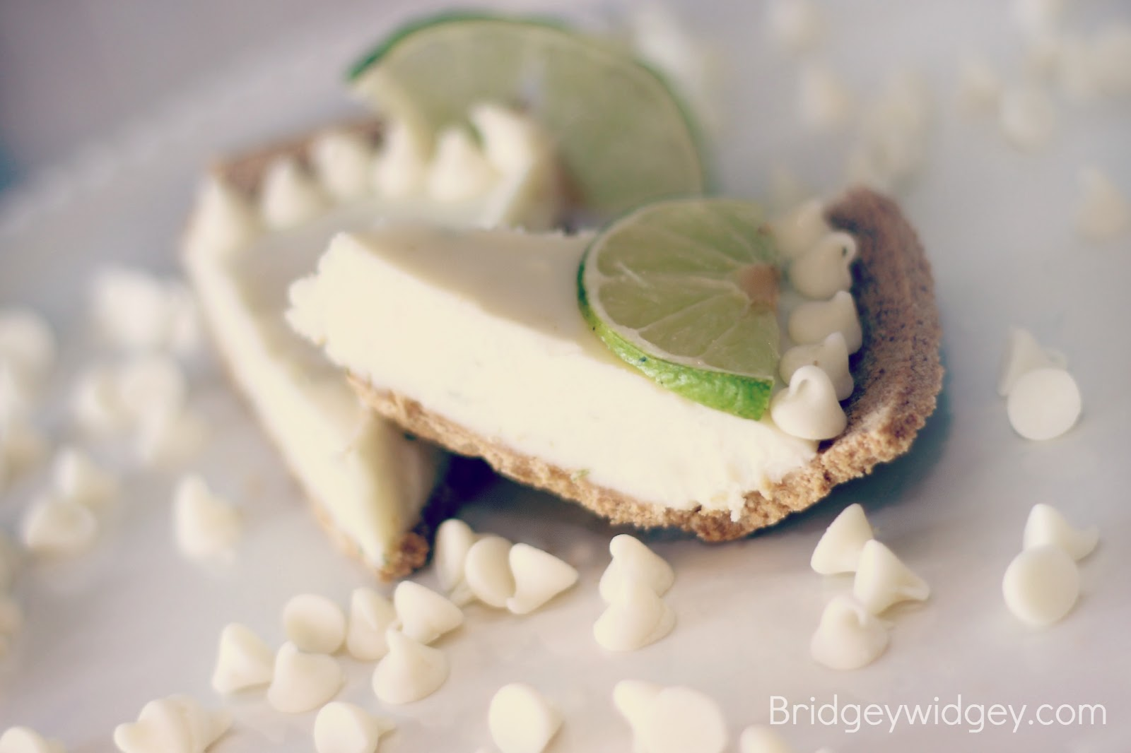 Bridgey Widgey: White Chocolate Key Lime Pie