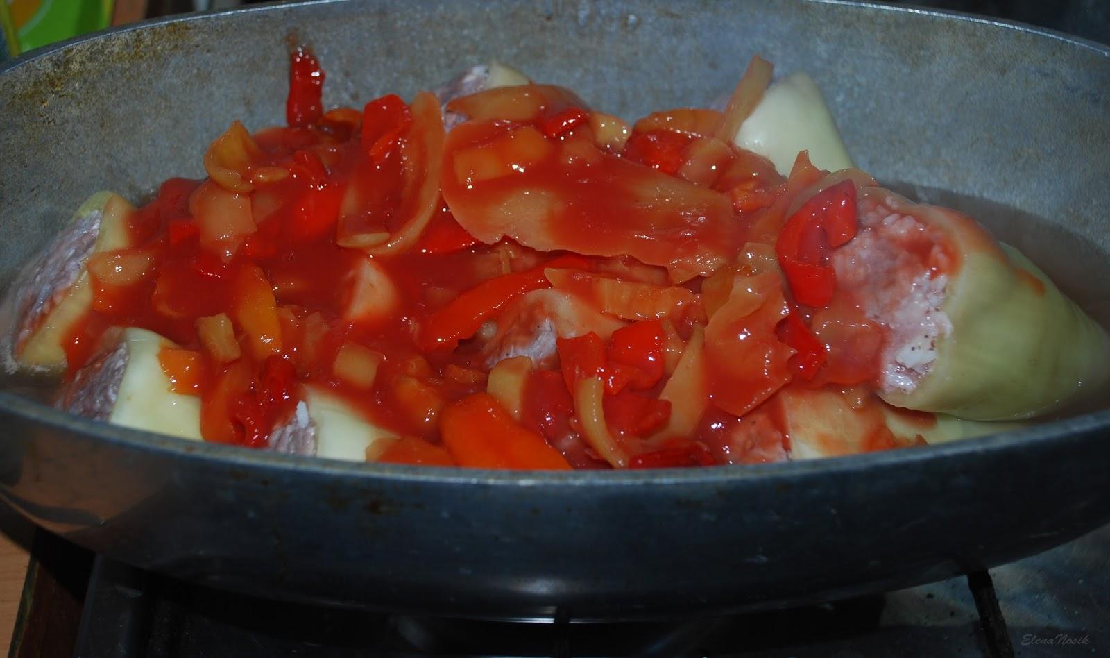 Перцы фаршированные со сметаной в мультиварке рецепты пошагово в