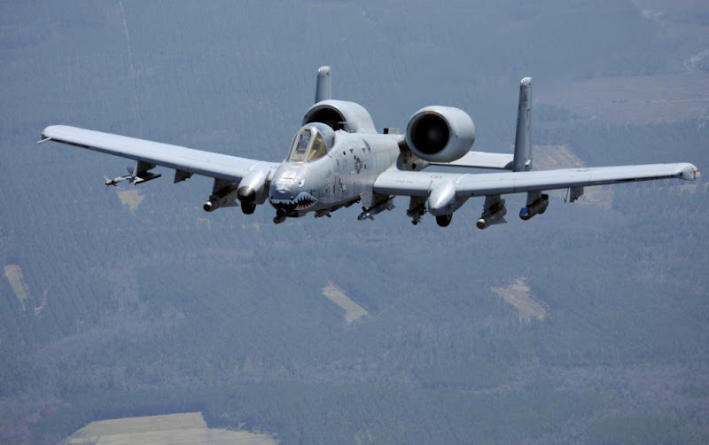 A-10 Thunderbolt USA 2-engine Attack Airplane