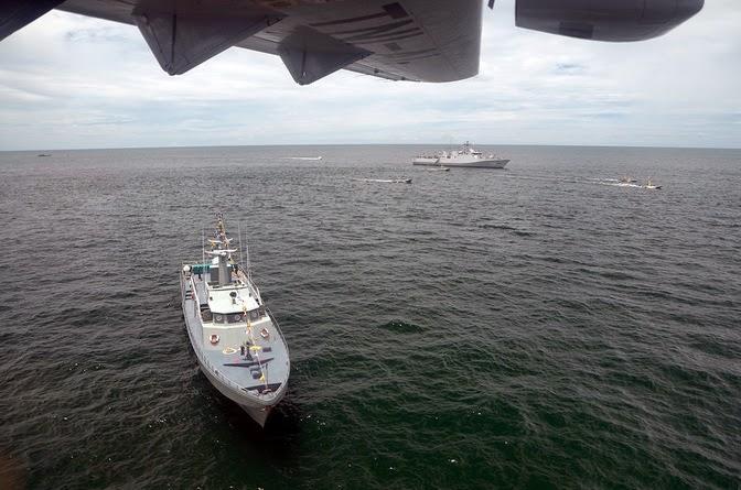 TNI AL di Nunukan klaim usir kapal perang Malaysia