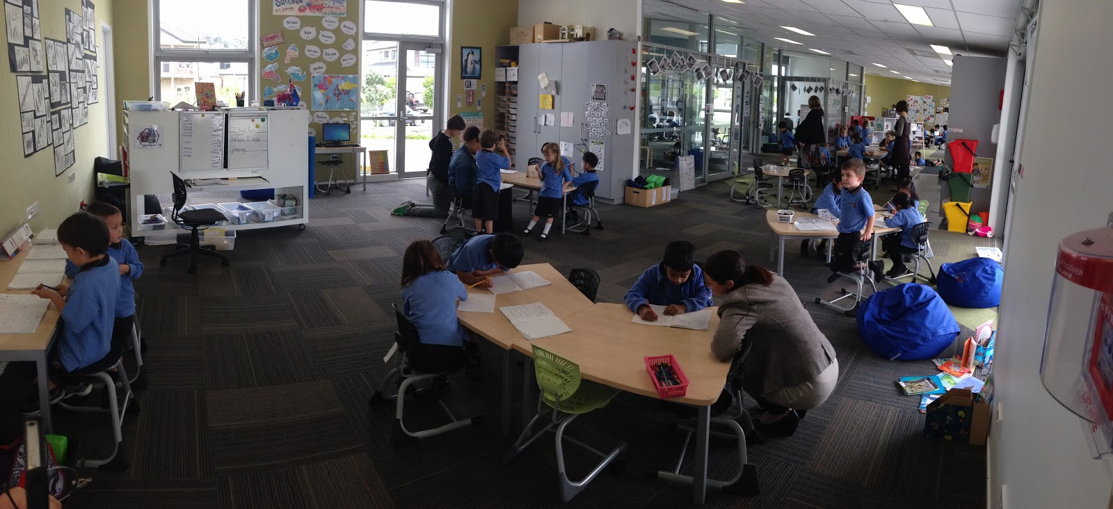 Collaborative Teaching Of Learning : Open learning spaces collaborative teaching the