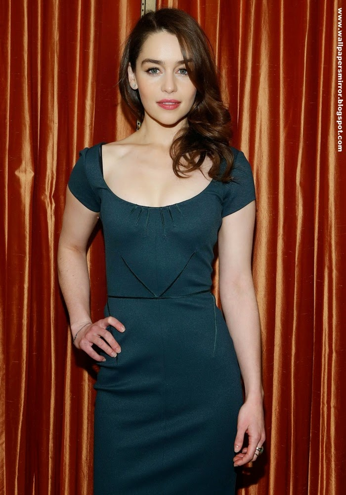 Most searched actress Emilia Clarke wallpapers in 2014