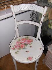 Zwyczajne krzesło zrobiło się nad zwyczajne
