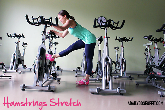 How to Stretch After Spinning: A full list of stretches for after your bike ride.