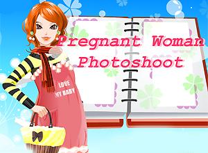 Pregnant Woman Photoshoot