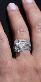 Always The Bridesmaid Engagement Rings Celebrity Style