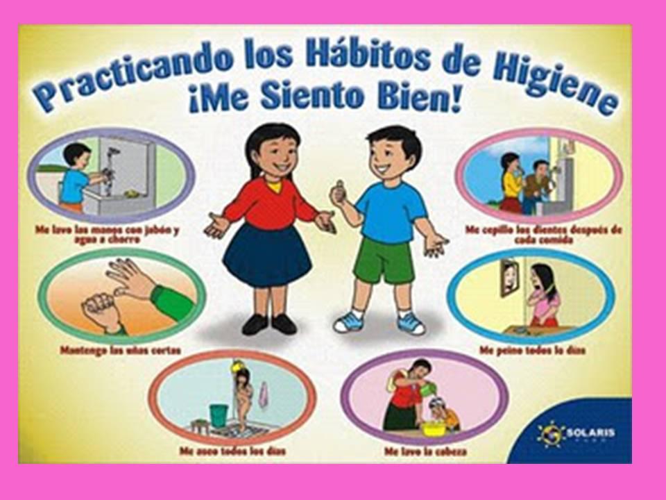 Normas de higiene para ni os de preescolar d a a d a for Normas de higiene personal en la cocina
