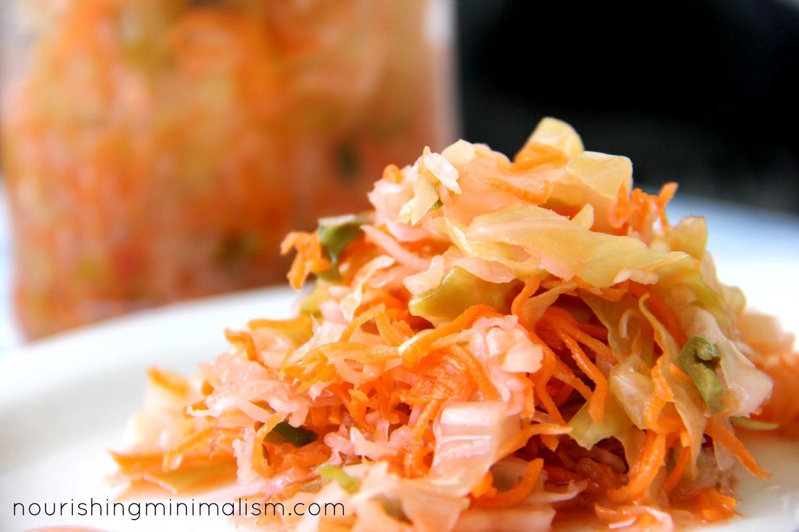Lacto-Fermented Kimchi | Nourishing Minimalism