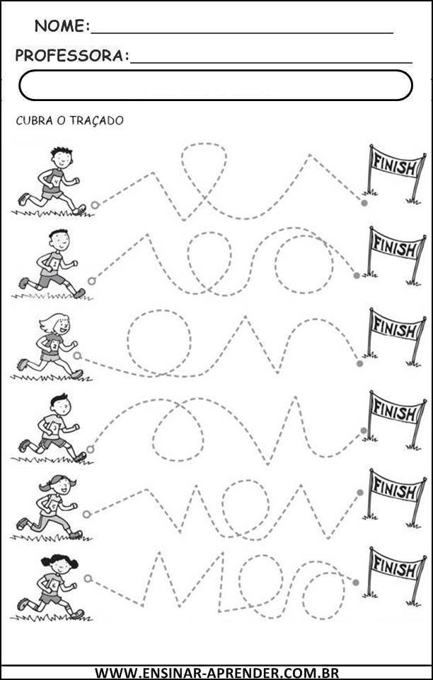 Populares ATIVIDADES PARA EDUCAÇÃO INFANTIL COORDENAÇÃO MOTORA FINA  OJ49
