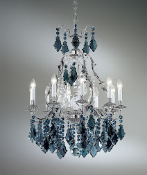 Alpha Crystal Chandelier