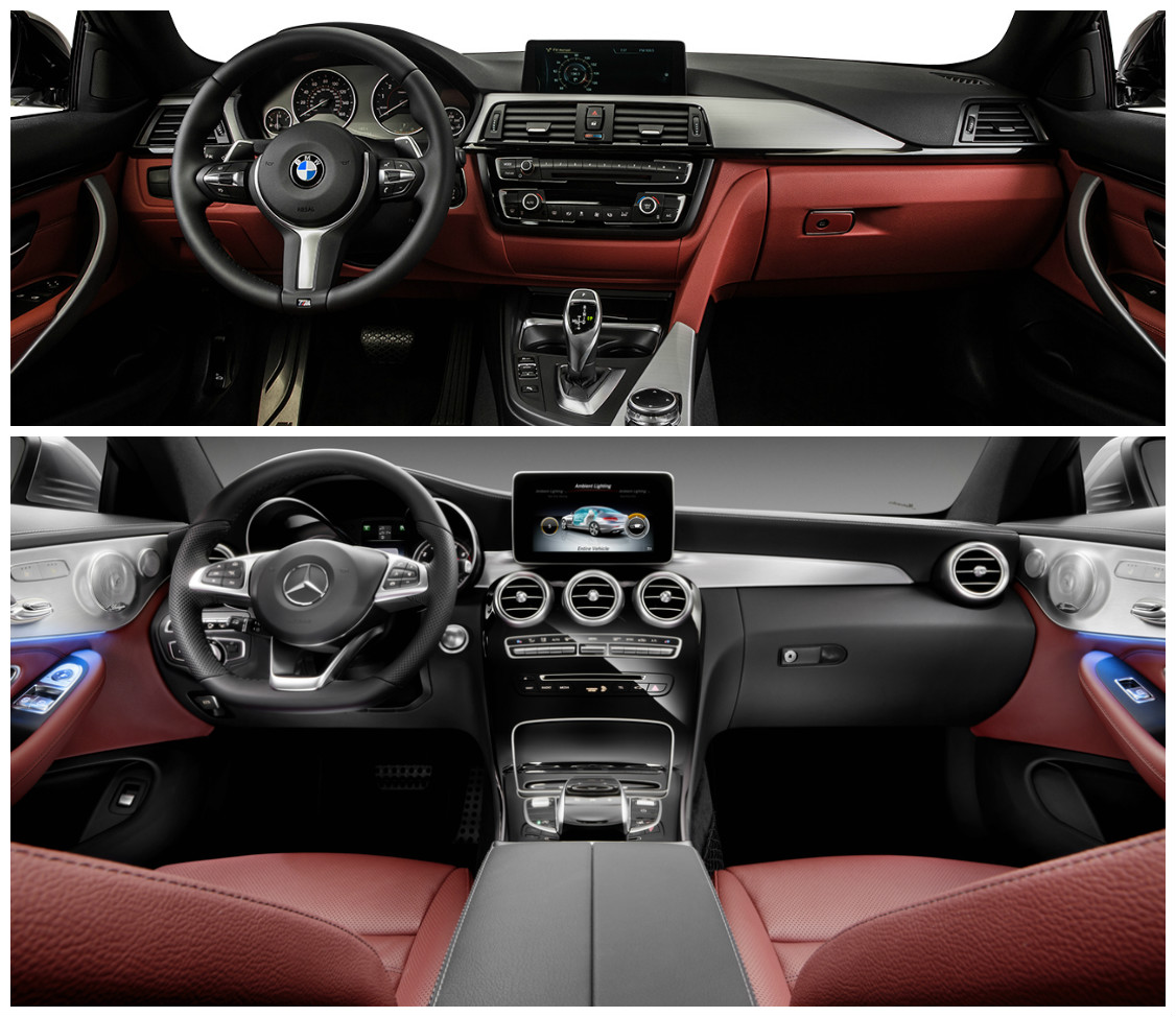 yeni mercedes c180 coupe mi? bmw 4.18i gran coupe mi