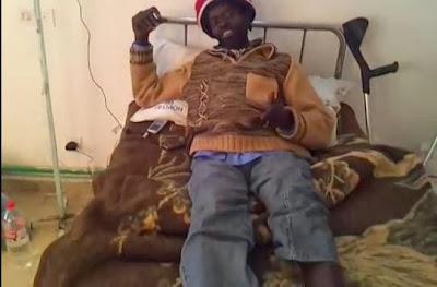 وطني لاجئ مخيّم الشوشة يعاني معاملة الهلال التونسي ويطلبون رجله soudani.JPG
