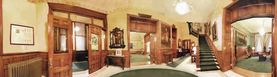 NOW The Foyer Of Viceregal Suite At Ontarios Legislative Assembly With Doorways Leading To Lounge Drawing Room And Dining