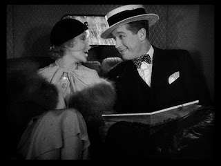 Maurice Chevalier Jeanette McDonald One Hour with You 1932 movieloversreviews.blogspot.com