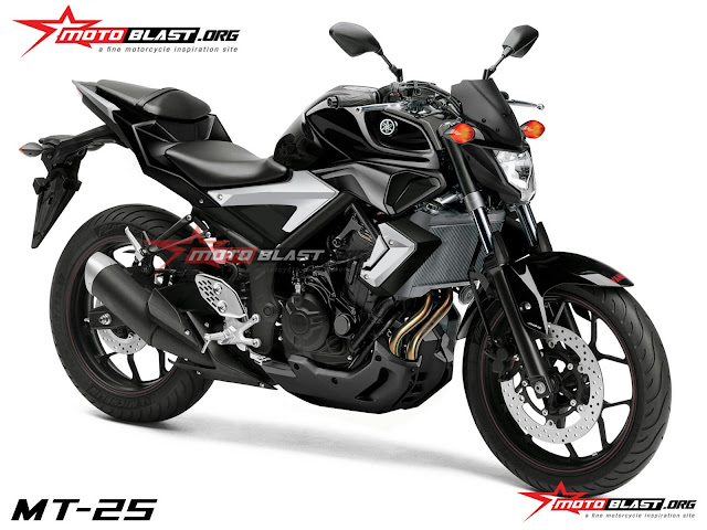 Modifikasi Motor Yamaha MT 25