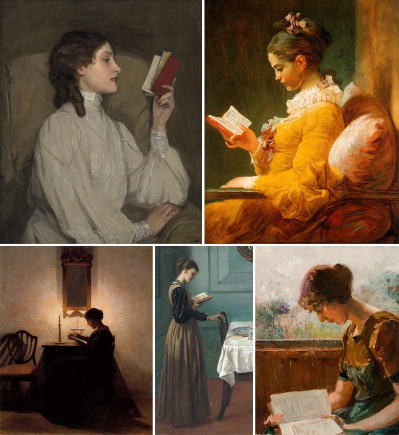 A Leitura na Arte