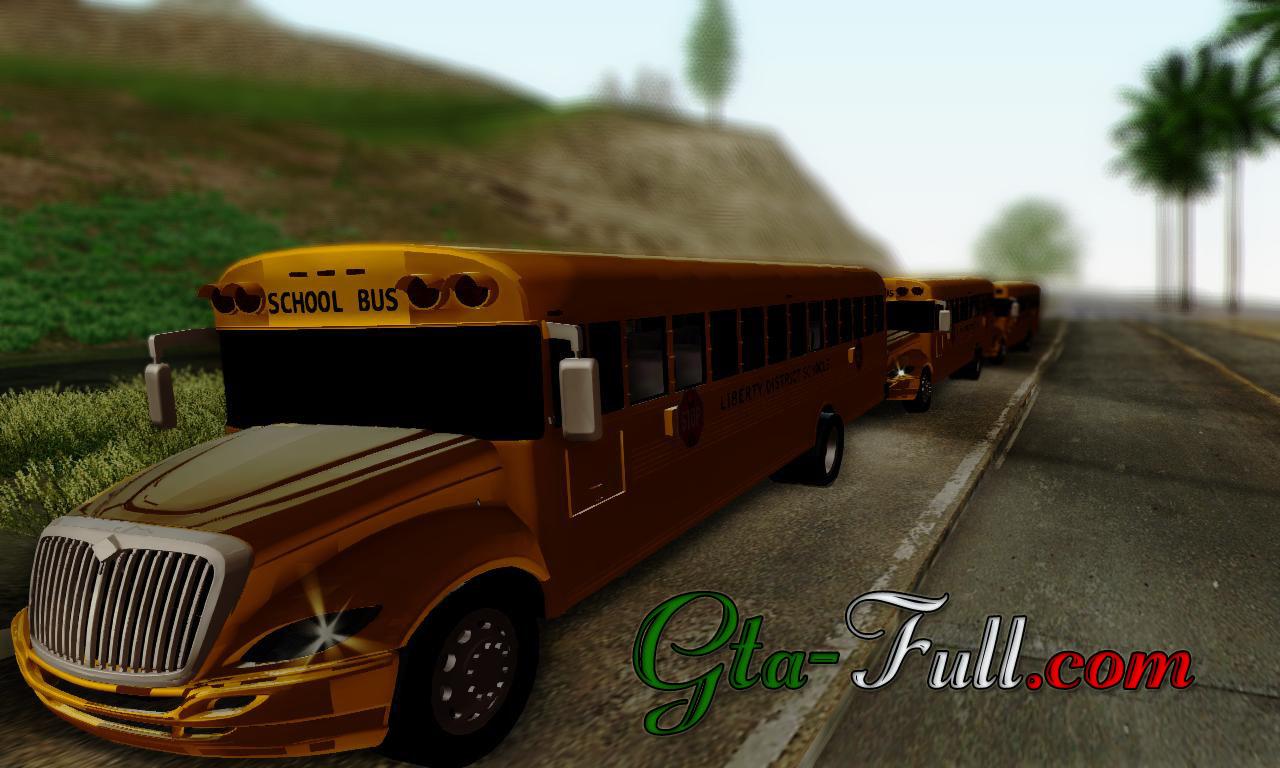 Autobus Escolar Gta San Andreas Descargar Gta San Andreas