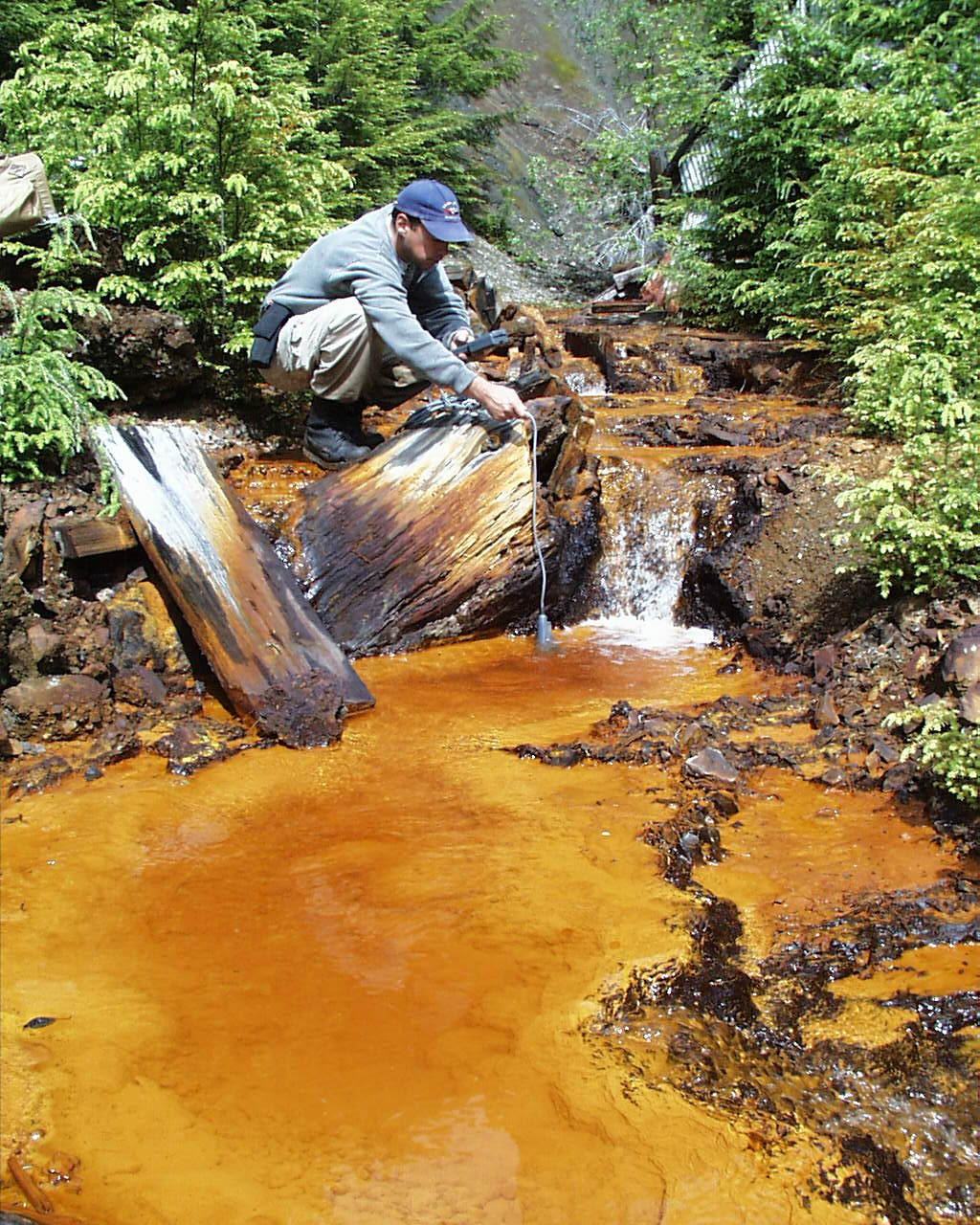 combating water pollution