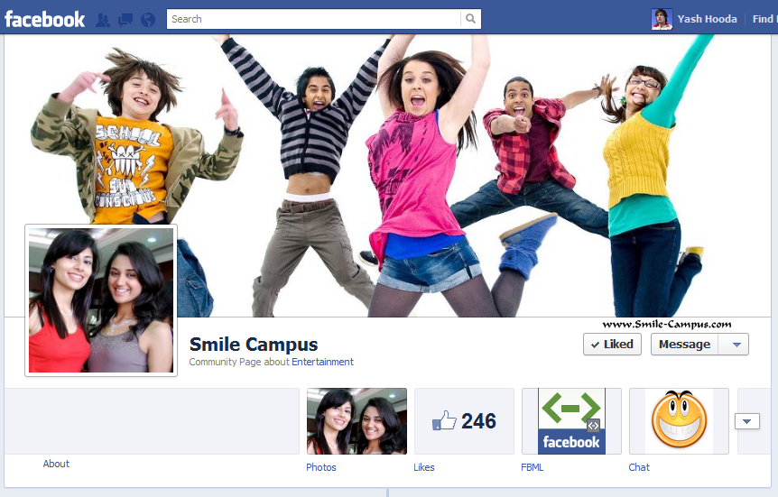 SmileCampus on Facebook