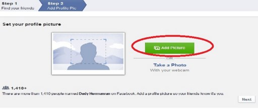 cara pendaftaran facebook