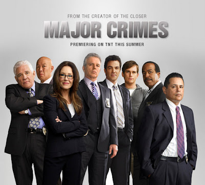 Major Crimes TNT Poster