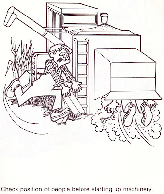 workplace safety coloring pages - photo#13