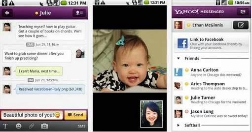 Yahoo Messenger video call