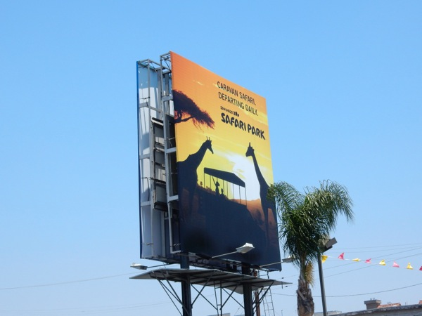 San Diego Zoo Safari Park billboard