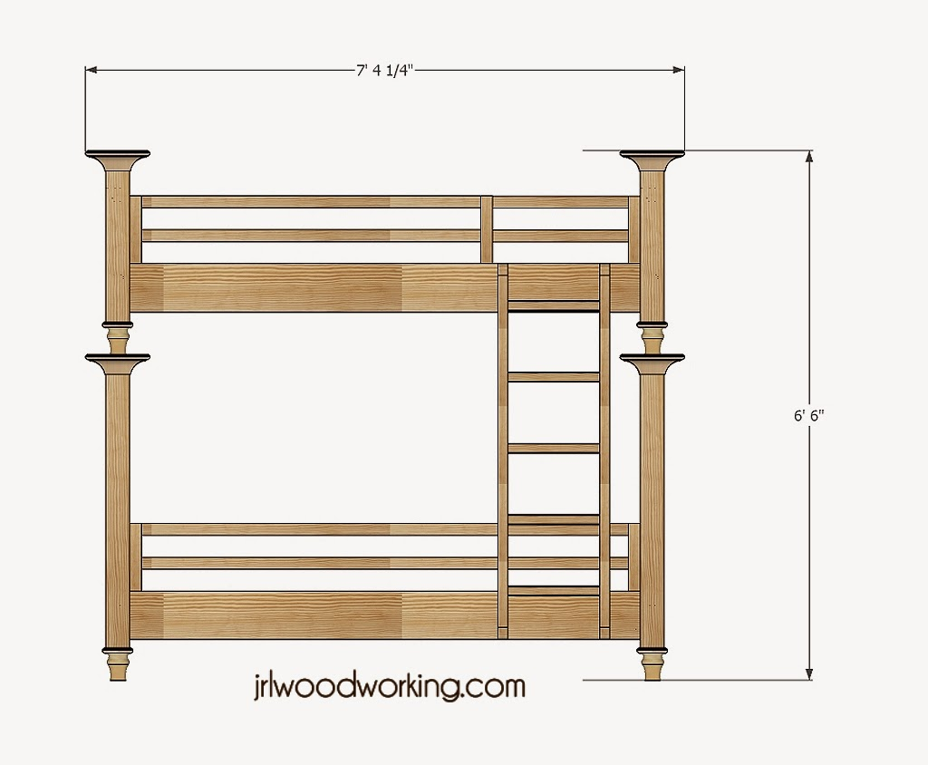 Twin Bed Elevation