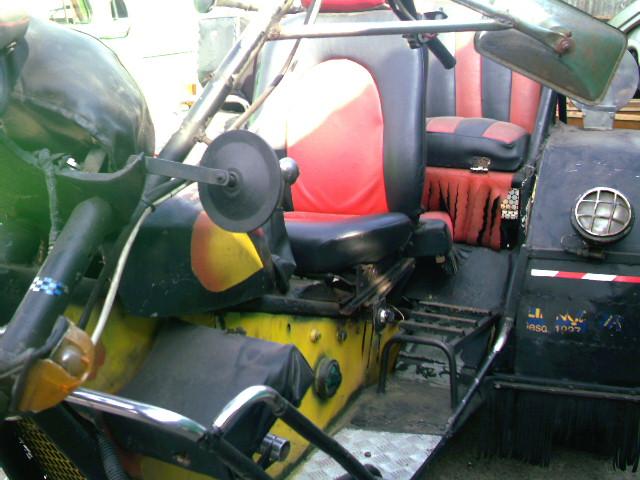 Triciclo motor vw 1500
