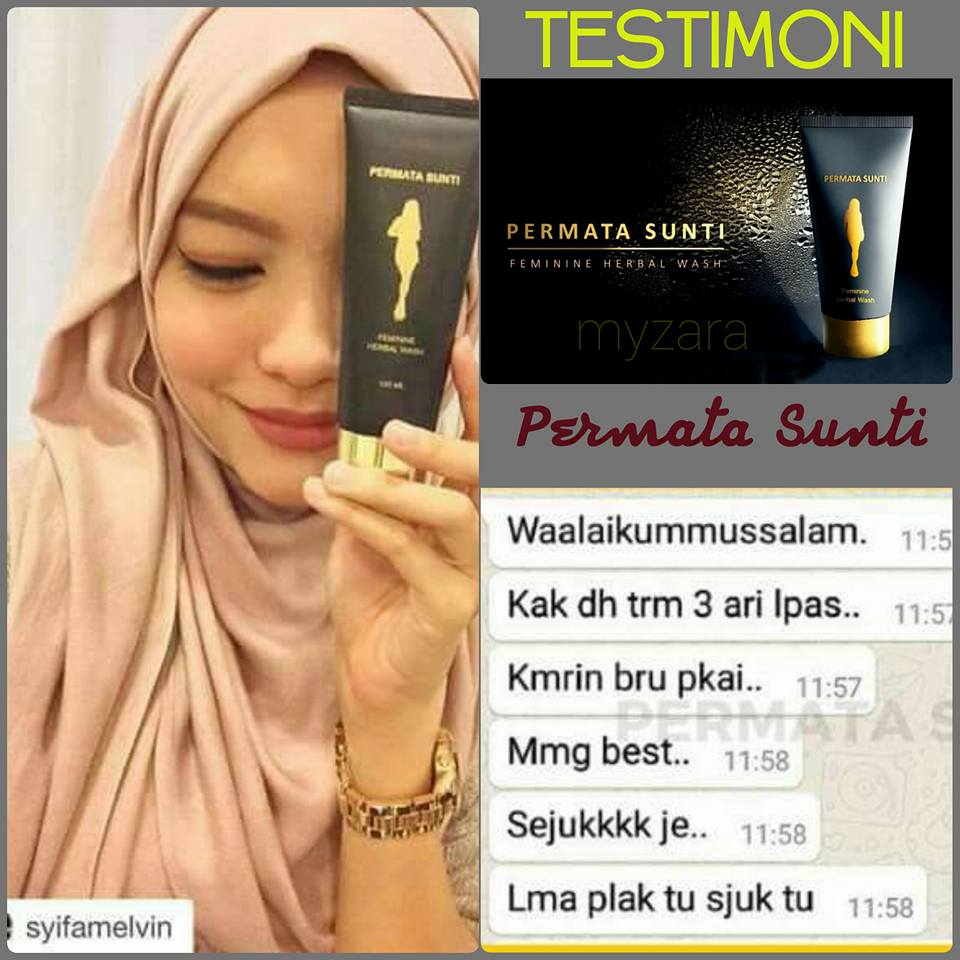 PERMATA SUNTI Feminine Herbal Wash